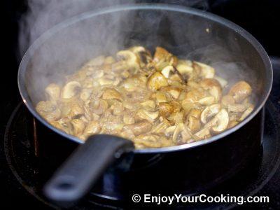 Mushrooms and Peas: Step 5