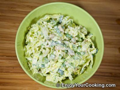 Napa Cabbage and Chicken Salad